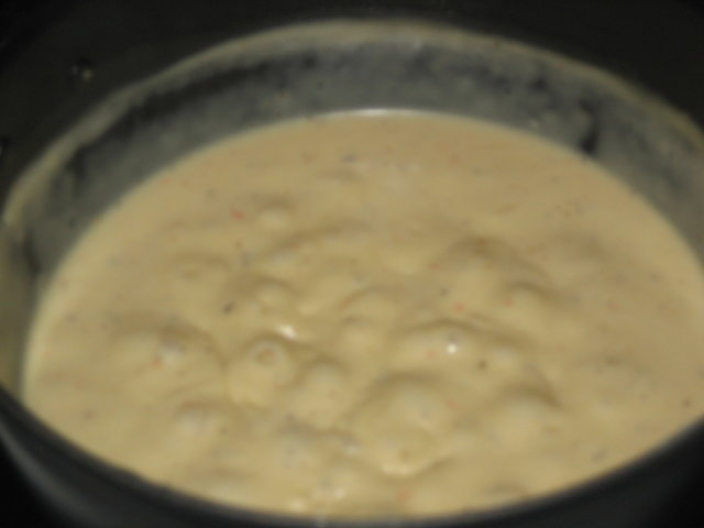 Reseptikuva: Savuporo-Juustokastike 1