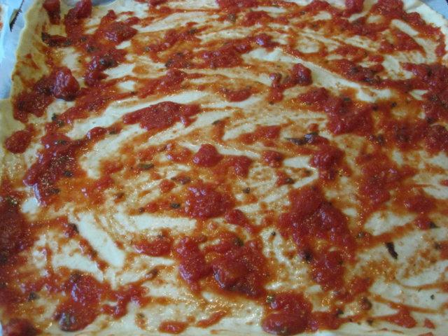 Reseptikuva: pitsapohja (pellillinen) 1