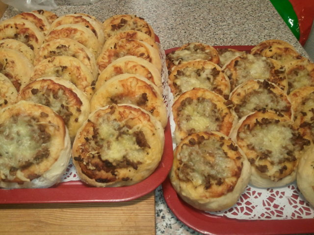 Pikkupizzat ja pizzapullat 1