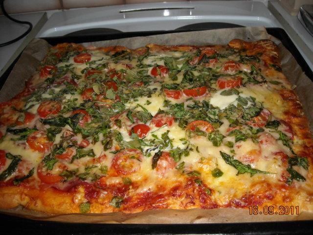 "Reseptikuva: ""Herkku"" pizza 1"
