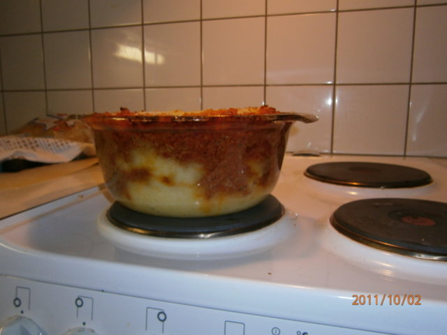 Reseptikuva: Jauhelihaperunasoselaatikko 4