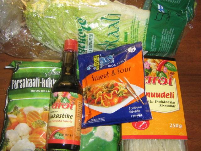 Possua ja riisinuudelia
