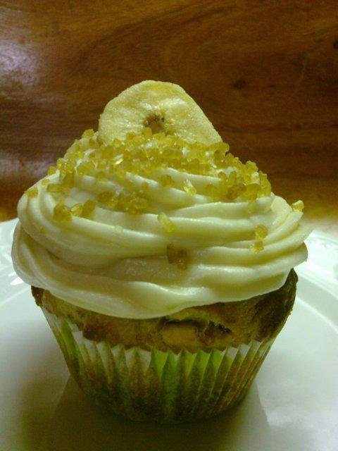Ultimate Banaani Muffinssit - Cupcake 1