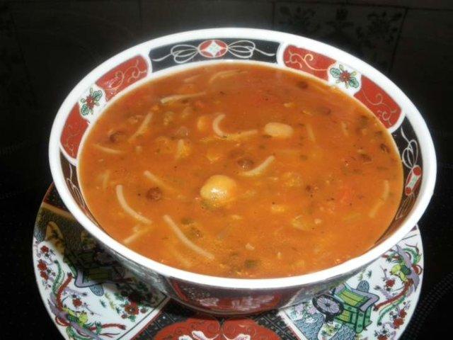 Reseptikuva: Marokkolainen Harira-keitto 1