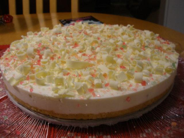 Valkosuklaa-limerahka kakku 1