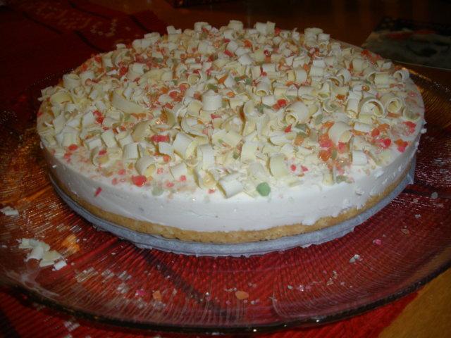 Valkosuklaa-limerahka kakku 2