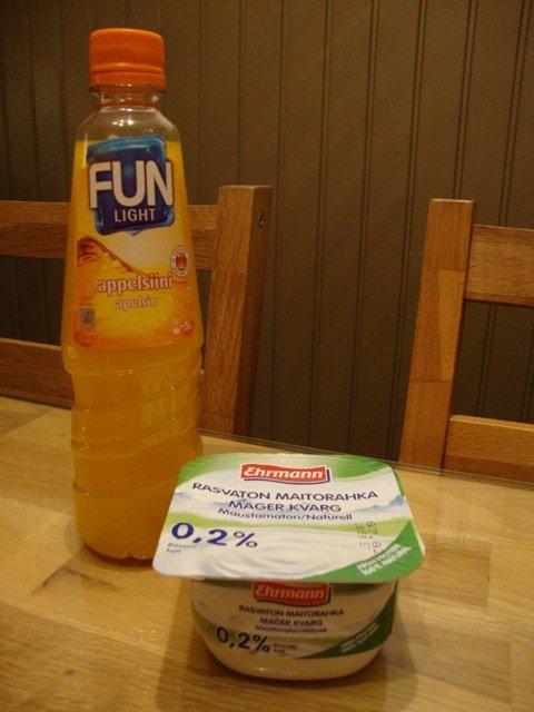 Appelsiinirahka (145 kcal) 2