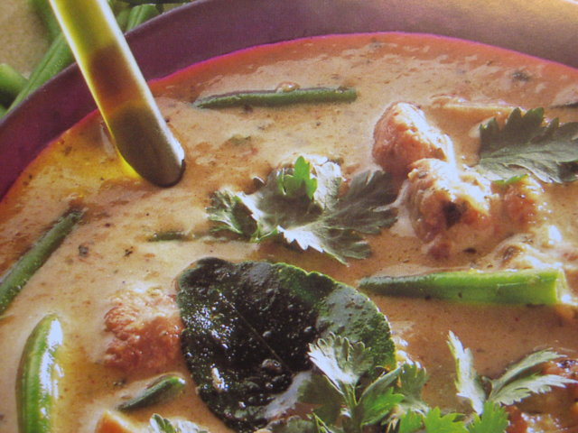Reseptikuva: Thai vihreä kana curry 1