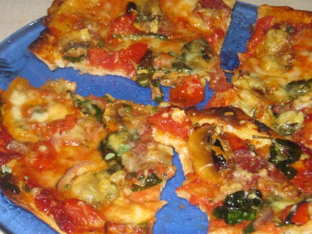 Reseptikuva: Oma pizza 1