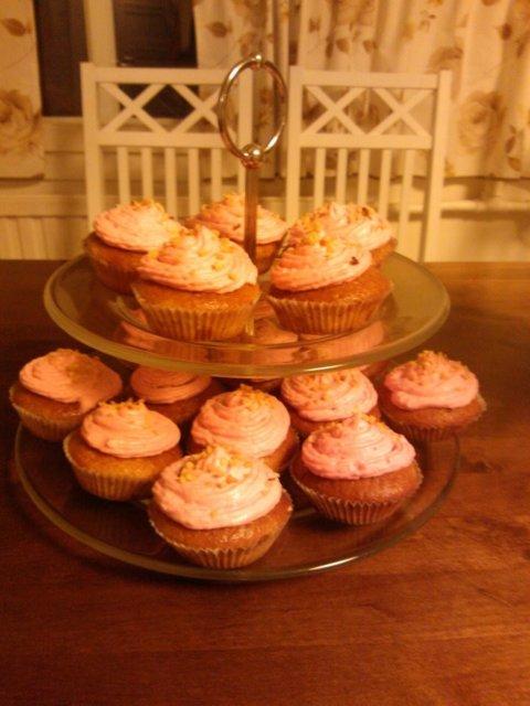 Cupcakes À la vanilla 1