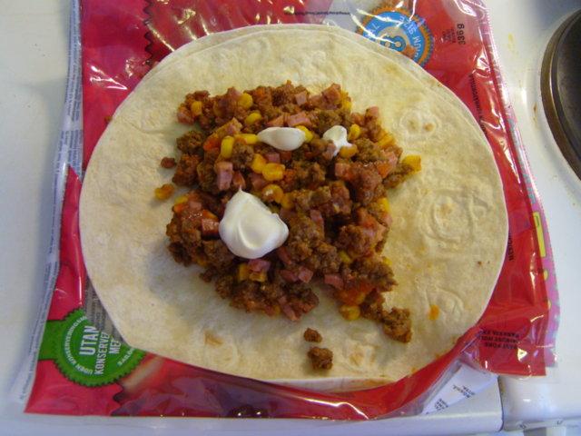Reseptikuva: Burritot uunissa 2