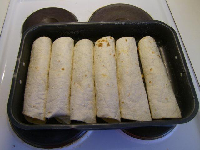 Reseptikuva: Burritot uunissa 3