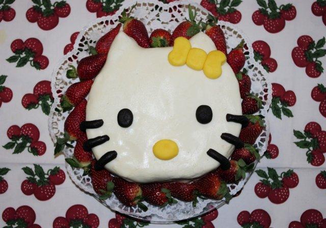 Hello Kitty Mansikkamaassa 1