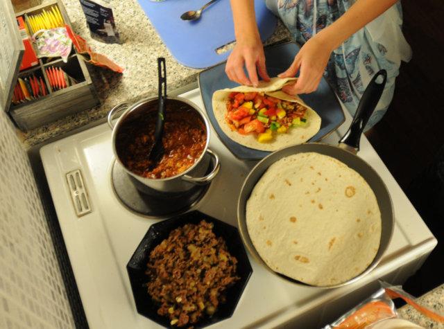 Tortilla jauheliha mausteet