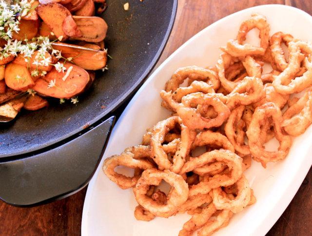 Calamares Fritos- Rapeat Mustekalarenkaat