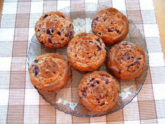 Helin mustikkamuffinit 1