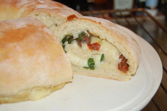 Fylldt Italienskt bröd/ Täytetty Italialainen leipä