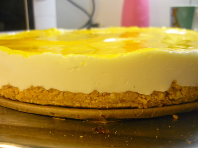 Reseptikuva: Mango-juustokakku 1