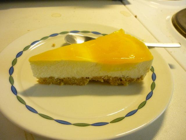 Reseptikuva: Mango-juustokakku 2