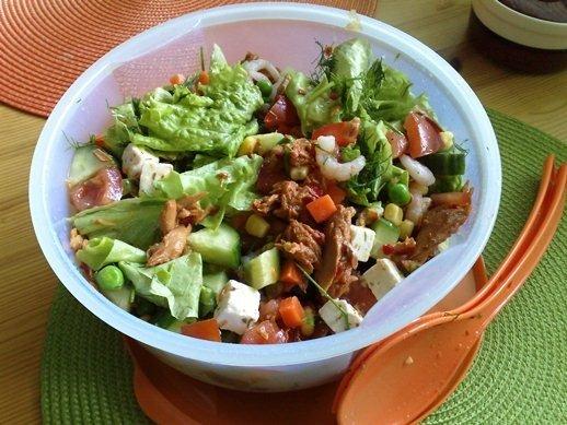 Reseptikuva: Herkullinen chili-tonnikalasalaatti 1