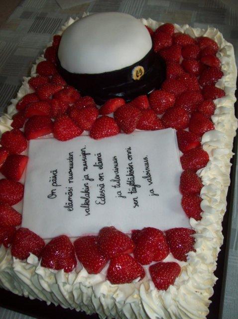 YO-kakku ylioppilaalle 5