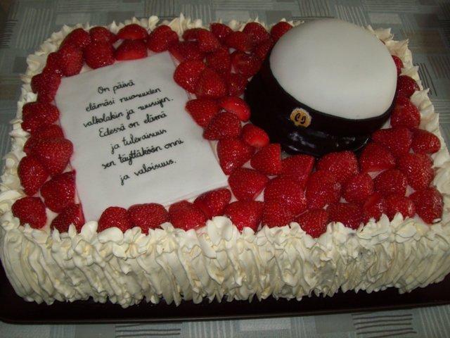 YO-kakku ylioppilaalle 4