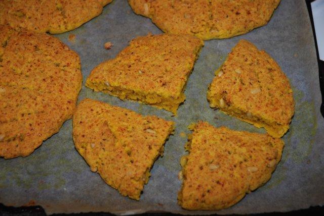 Keltaiset Raejuusto Sconesit (gluteeniton) 6
