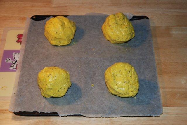 Reseptikuva: Keltaiset Raejuusto Sconesit (gluteeniton) 3
