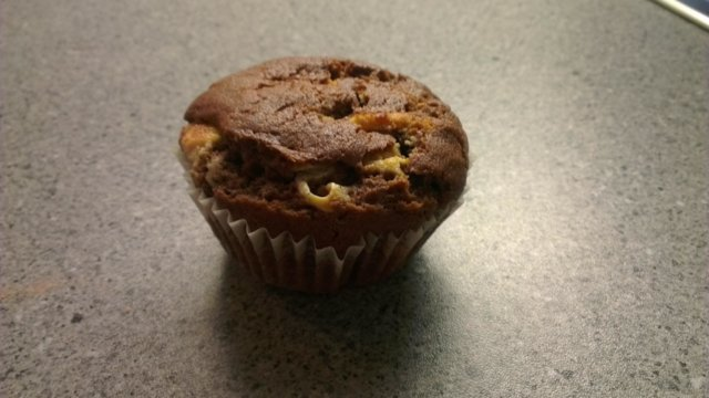 American double chocolate muffin made by Supsu and Jomppa