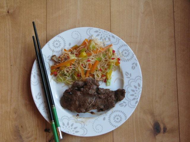 Reseptikuva: Bulgogi riisinuudeleiden kera 1