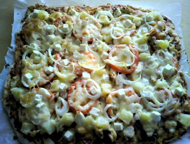 Pizzapohja, hiivaton