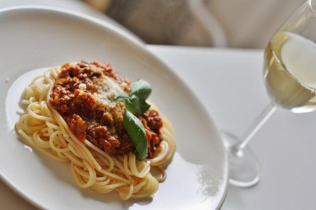 Kiireettömän Spaghetti Bolognese 1