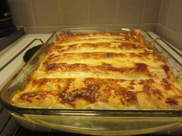 Reseptikuva: Enchiladas omatekoisella salsalla 1