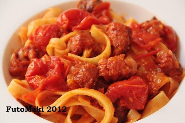 Pasta Salccicia 1