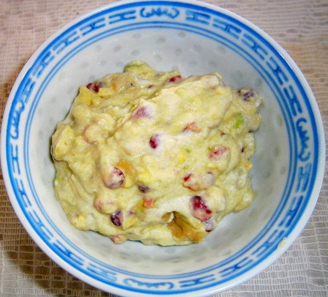 Okun granaattiomena ja avocadoherkku 1