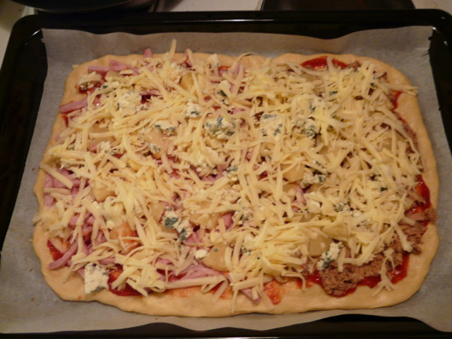 Äidin pizzapohja (pellillinen) 1