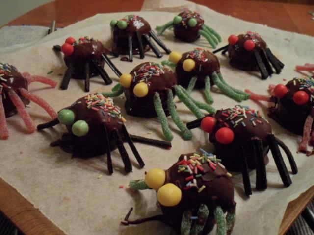 Suklaahämähäkit 1