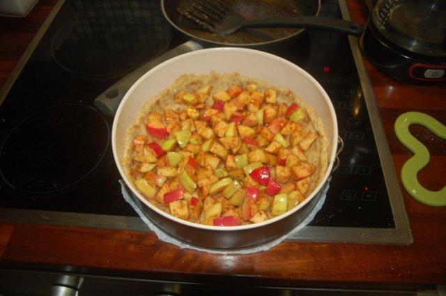 Reseptikuva: sitruunainen omenapiiras 4