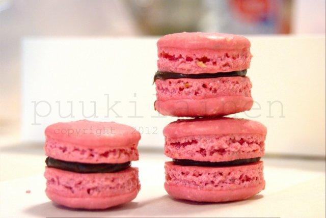 Macaron-leivokset, ranskalainen marenki