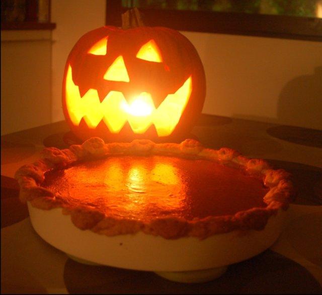 Reseptikuva: Kurpitsapiiras & kurpitsalyhty - Pumpkin Pie & Jack-o-Lantern 1