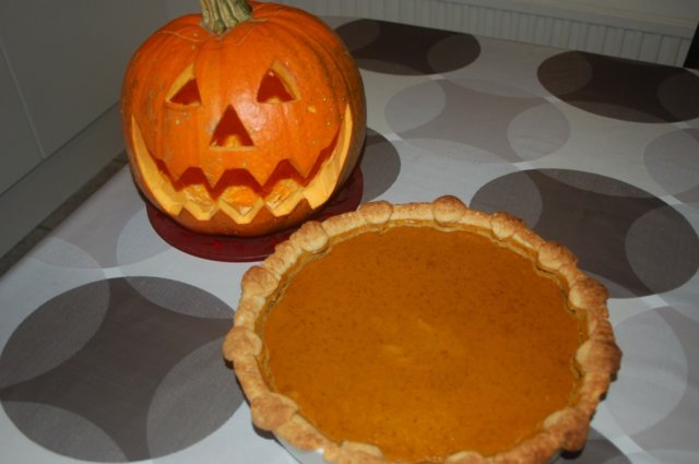 Reseptikuva: Kurpitsapiiras & kurpitsalyhty - Pumpkin Pie & Jack-o-Lantern 13