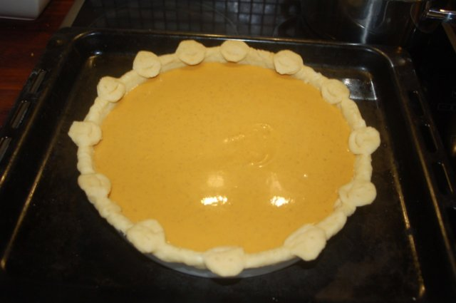 Reseptikuva: Kurpitsapiiras & kurpitsalyhty - Pumpkin Pie & Jack-o-Lantern 12