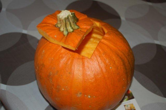 Reseptikuva: Kurpitsapiiras & kurpitsalyhty - Pumpkin Pie & Jack-o-Lantern 4
