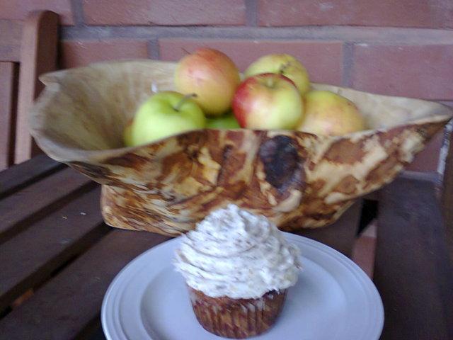 Reseptikuva: Maustettu Konjakki Omena Cupcake 2