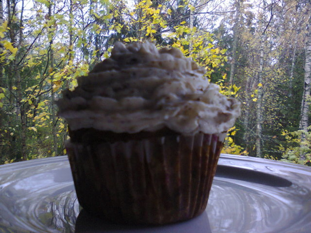 Reseptikuva: Maustettu Konjakki Omena Cupcake 1