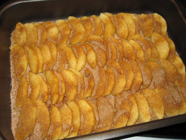 Kaurainen omena-rahkapiirakka