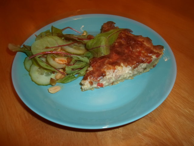 Reseptikuva: Pizzamainen jauhelihapiirakka 1