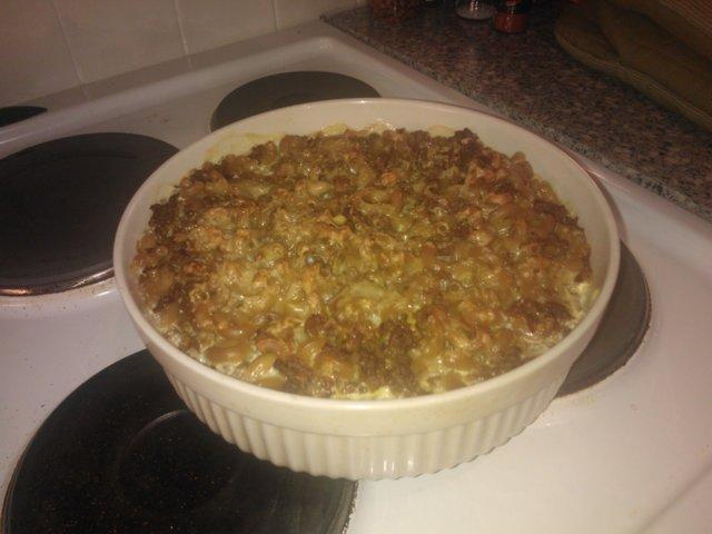 Lihamakaronilaatikko kookosmaidossa 1