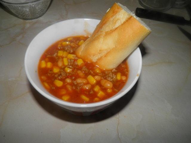chili con carne -keitto 1