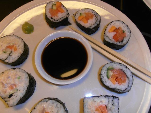 Reseptikuva: Sushi (makirulla) 1